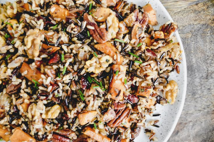 Nutted Wild Rice Pilaf