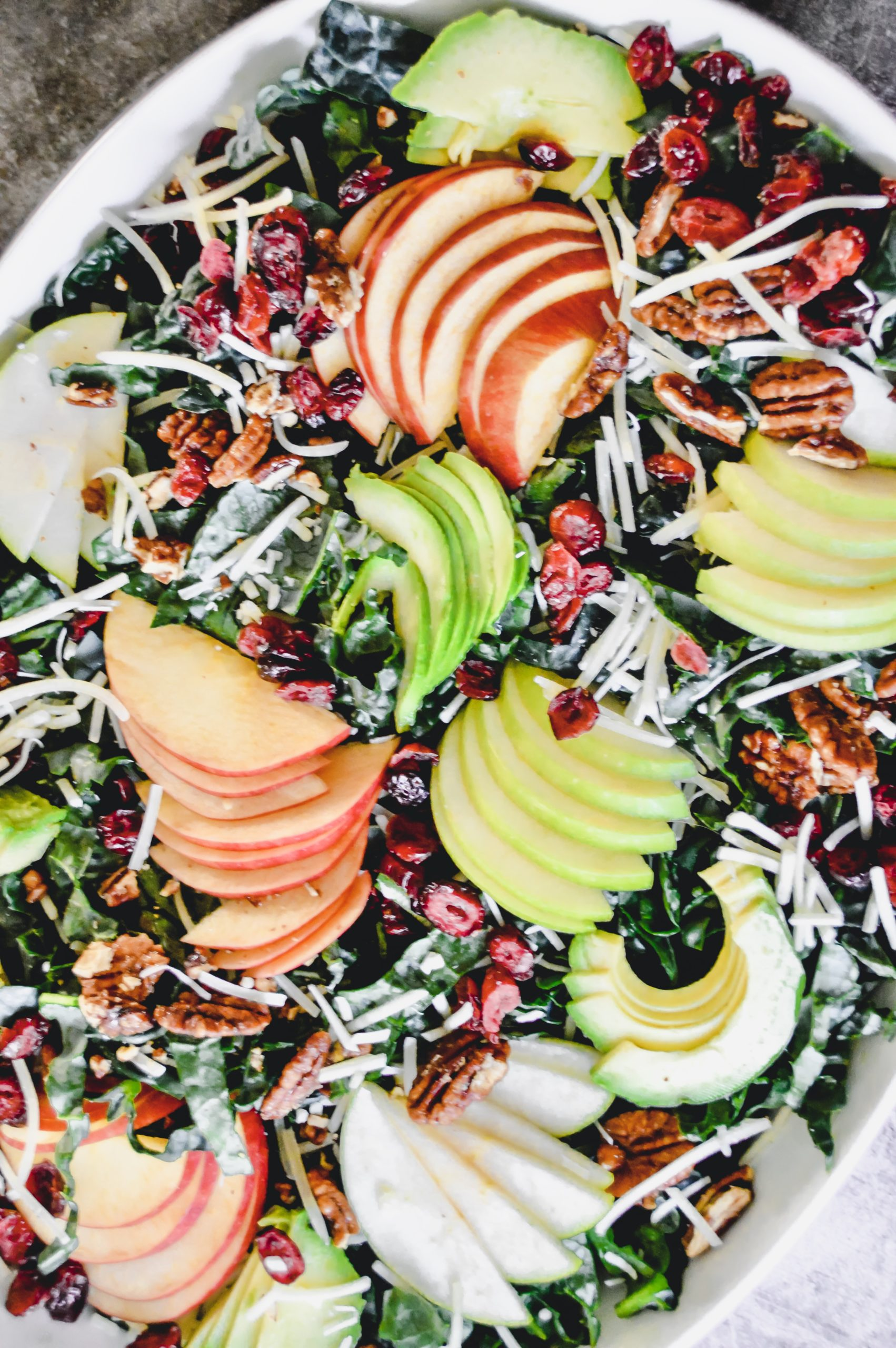 Tuscan Kale Salad with Apples