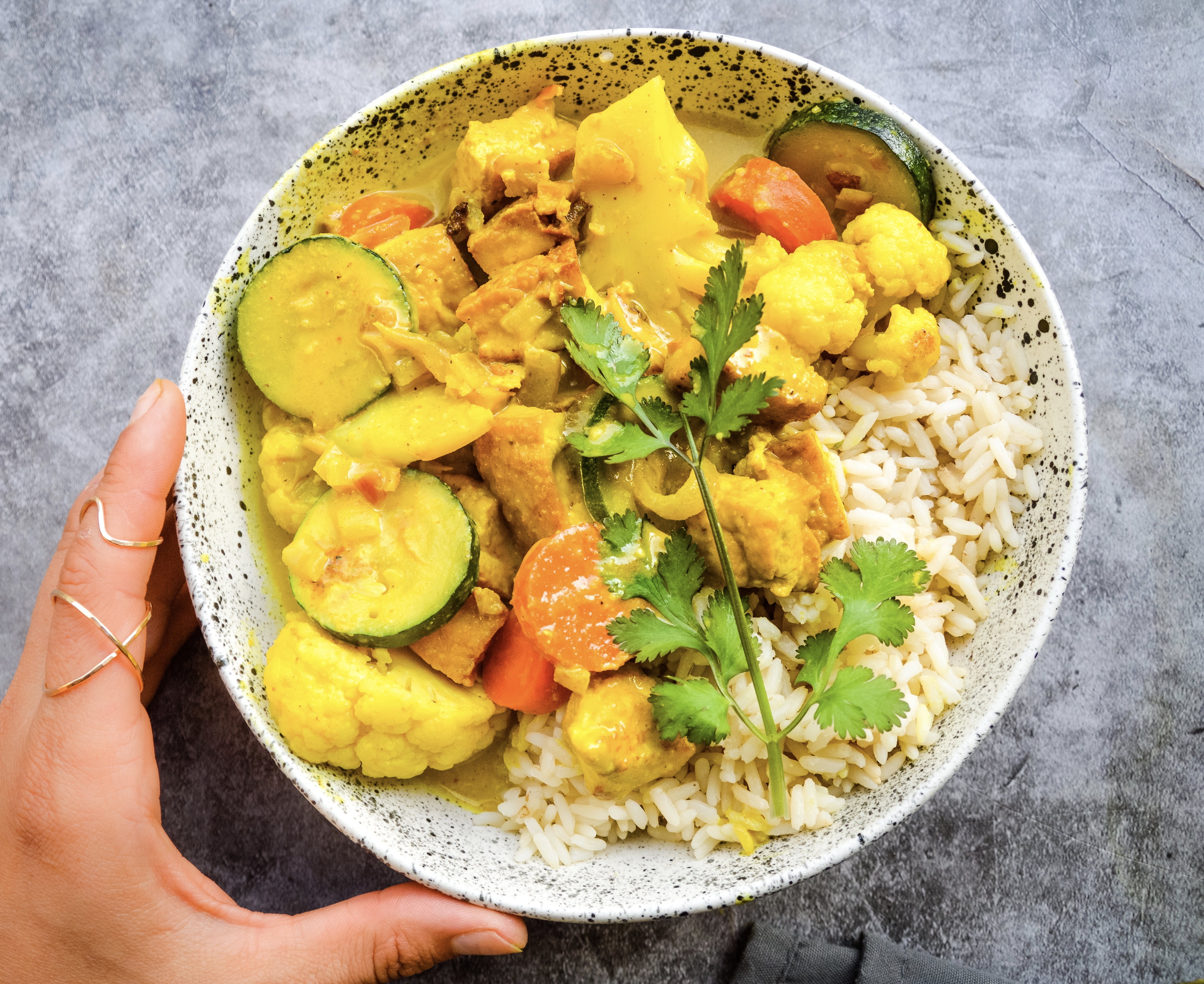Easy Tofu and Vegetable Curry
