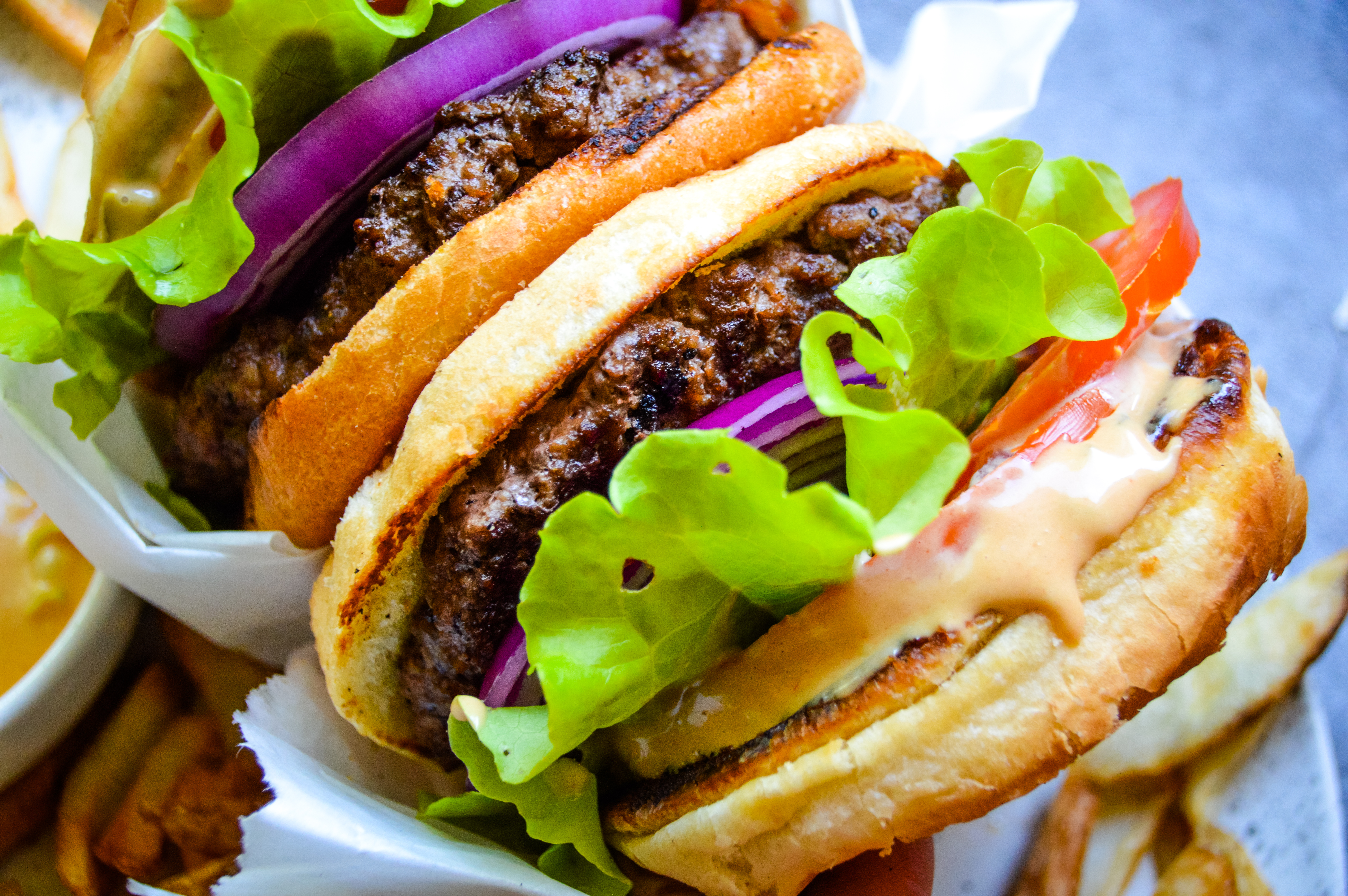 Juicy Indoor Burgers Sauce Kay S Clean Eats