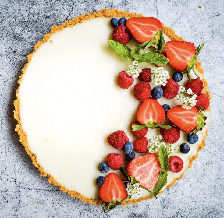 Lemon Curd Tart {Easy & Delicious}