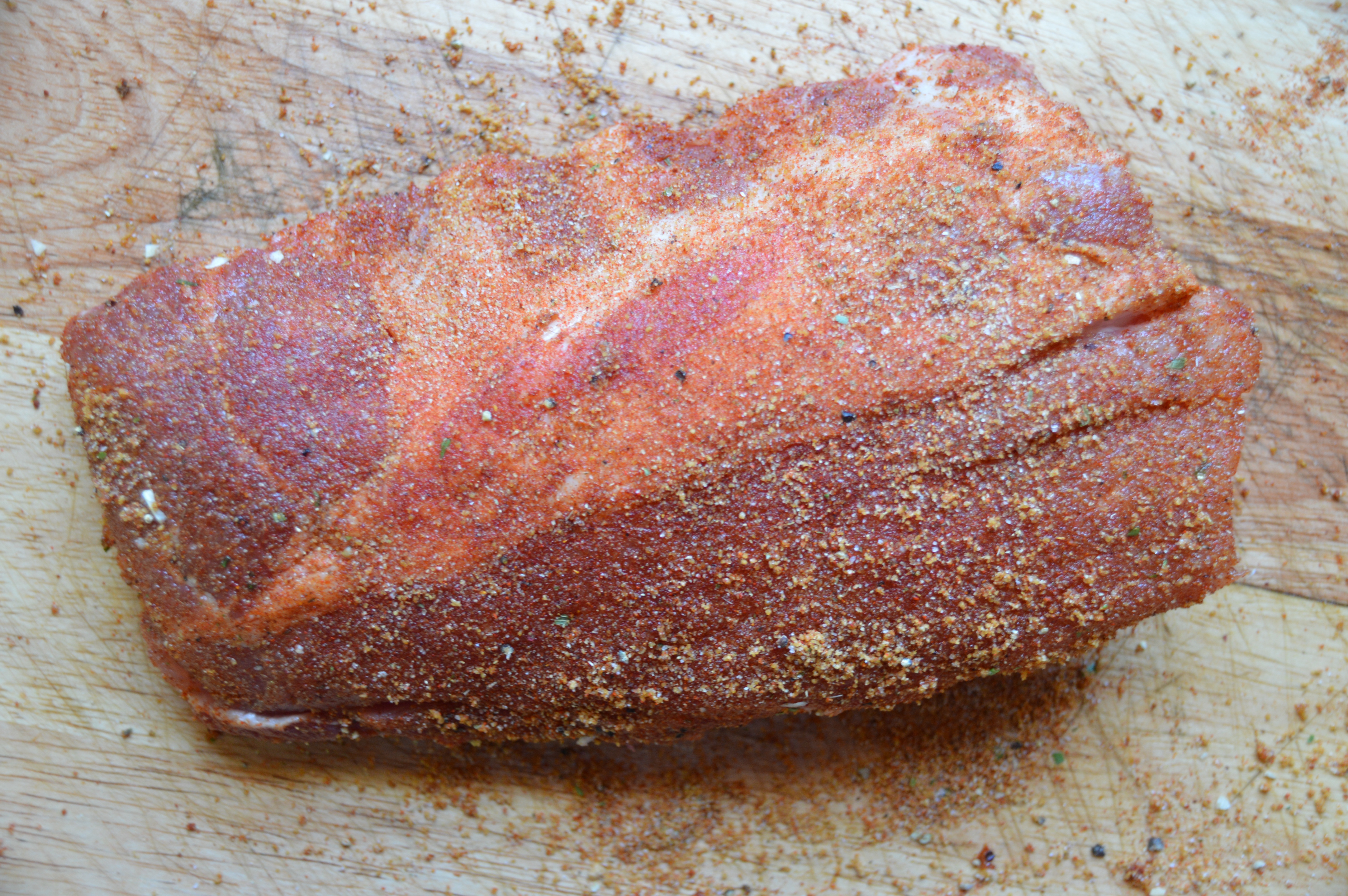 Grilled Pork Ribs + Paleo Rub