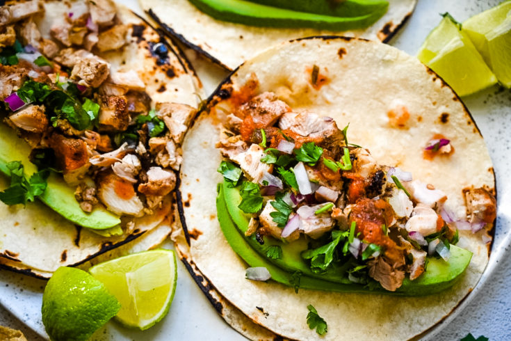 Easy Grilled Chicken Street Tacos